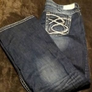 Silver Jeans *like new!* Lola 17 Straight